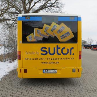 Stadbusse landshut folierung folieren besser geprüfte Qualität
