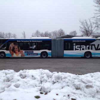Stadtbusse Landshut Beschriftung