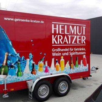Anhängerbeschriftung Helmut Kratzer