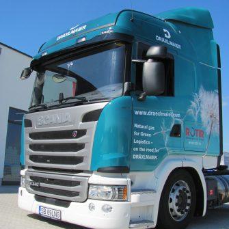 Truck LKW folierung foliert