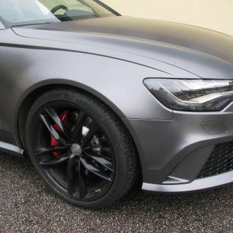 Audi satin foliert folieren