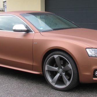 Audi A5 Folierung